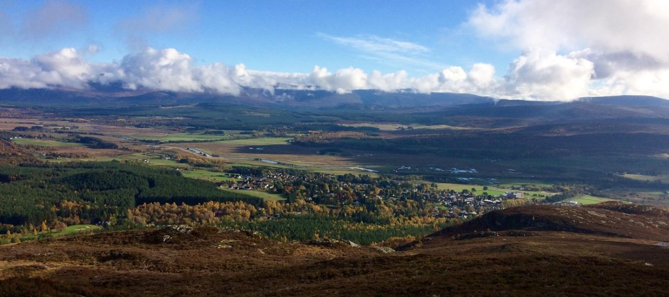 Badenoch Valley - Highland View