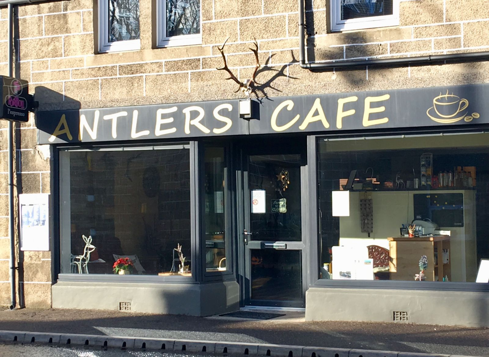 Antlers Cafe Main Street Newtonmore